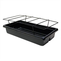HERB TUB W/POWDER COATED RACK