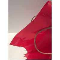 CELLOPHANE WRAP 50X70CM RED 30UM 200SH