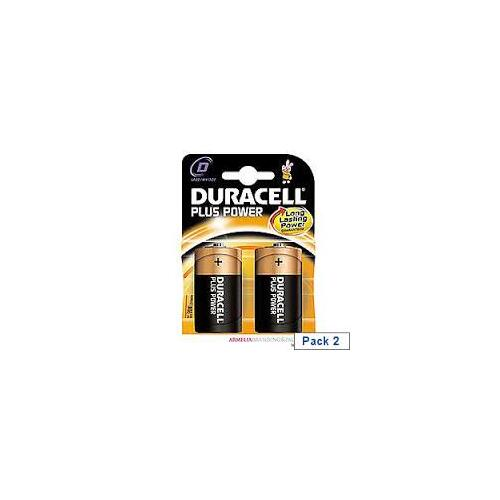 DURACELL BATTERIES D BLISTER PK2