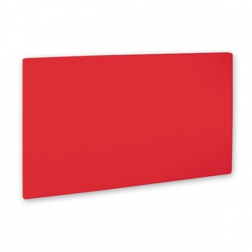 CHOPPING BOARD RED 540X335X20MM