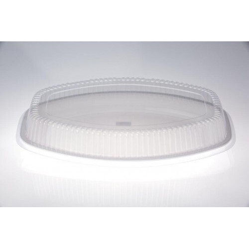 "LID OVAL 20"" FOR PLATTER CLEAR EACH"