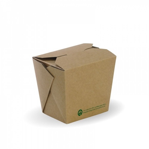 PAIL PAPER 16OZ COMPOSTABLE PLA-LINED
