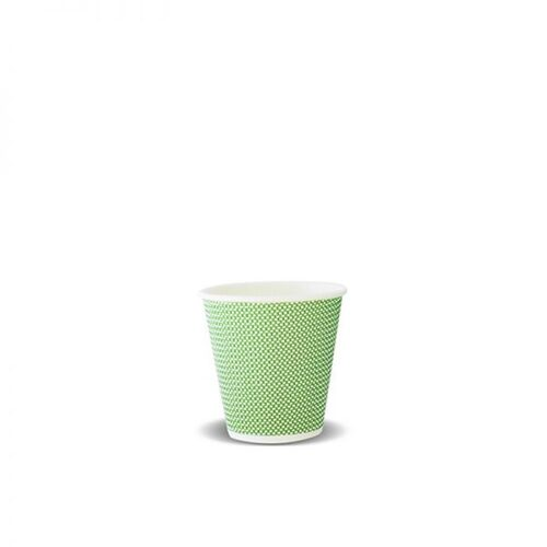 COFFEE CUP 08OZ IPS TRIPLE WALL LIME