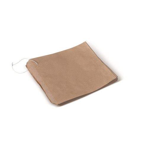 PAPER BAG BROWN 01 FLAT 140X195MM