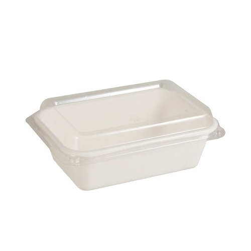 PET LID TO SUIT NAPAC TRAY 370ML PK50