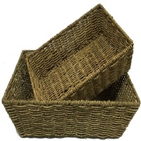 BASKETS CRATES POTS BARRELS
