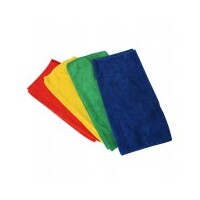 CLOTH MICRO FIBER PK8 FOUR COLOUR 280GSM