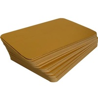 SALMON BOARD GOLD 145MMX210MM