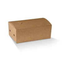 SNACK BOX SMALL BROWN 172X104X55MM