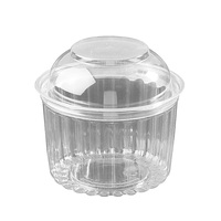 SHOW BOWL 16OZ DOME HINGED LID (5X50)
