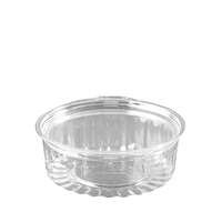 SHOW BOWL 8OZ FLAT HINGED LID (5X50)