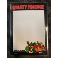 LAMINATED CARD A5 QUALITY PRODUCE PF
