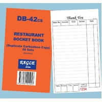 DB-42CS DOCKET RESTAURANT DUP C'LESS