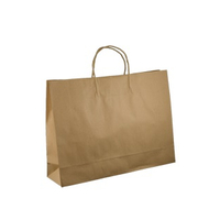 PAPER BAG STRING HANDLE BROWN400X450X150