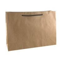 PAPER BAG BROWN W/ROPE HANDLE350X250X110