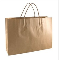 PAPBAG STR/HND #11 BROWN 215X180X80