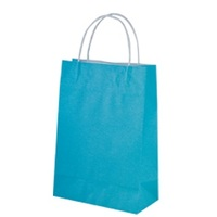 PAPBAG STR/HND JUNIOR BLUE 200X290X100