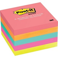 3M POST IT 76X076MM FL/ASS PK5