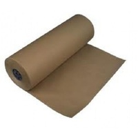 BROWN KRAFT PAPER ROLL 450MMX400M 50GSM
