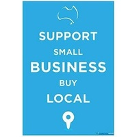 SIGN A4 COVID SMALL BUSINESS SUPPORT
