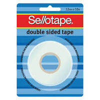 SELLOTAPE 12MMX10M DOUBLESIDED