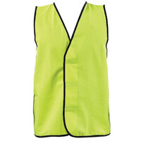 SAFETY VEST DAY YELLOW 2X-LARGE