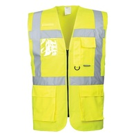 SAFETY VEST DAY EXECUTIVE W/POCKETS MED